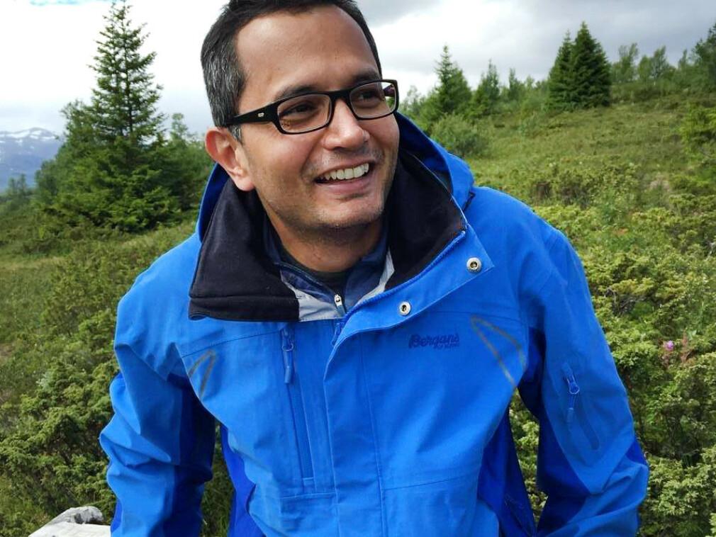 Ukas Koder Somaiah Nymoen-Kumbera studerte i USA etter han var ferdig med videregående i India. Nå jobber han i Capgemini. 📸: Privat
