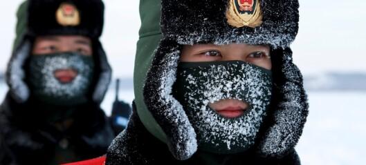 Mener Kina nærmer seg Norge: - En stigende makt