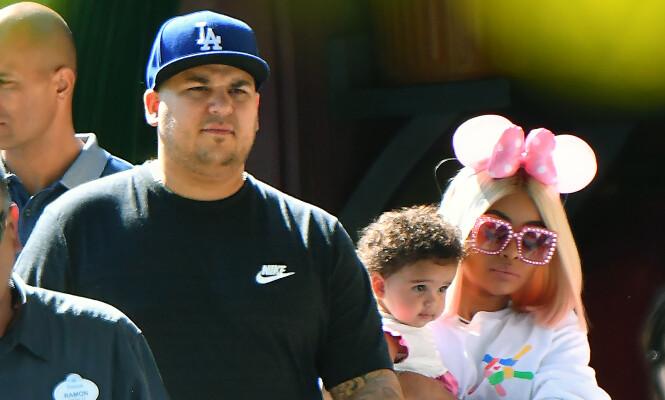 <strong>FORELDRE:</strong> Blac Chyna har datteren Dream med Rob Kardashian. Foto: NTB Scanpix