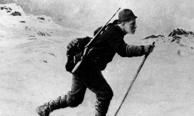 8b8c048e DEN FØRSTE SKIHELTEN: Fridtjof Nansen inspirerte en hel nasjon til å  begynne med skisporten,