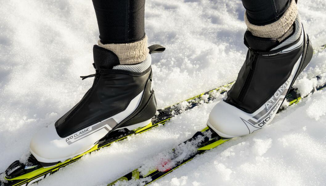 """<strong>VIRKER """"BILLIGE"""":</strong> Kvaliteten på skoens glidelåser virker ikke spesielt godt, og vi frykter at de kan bli ødelagte relativt enkelt. Foto: Per Ervland"""