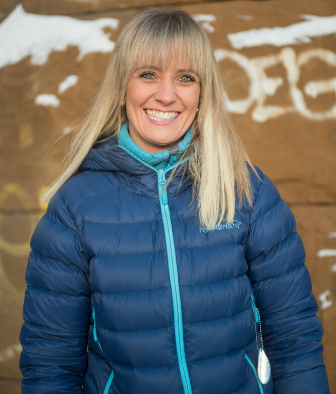<strong>DRØMMEN GIKK I OPPFYLLELSE:</strong> Når Gro har en rykende fersk bachelor i business management fra The University of Brighton i England, går drømmen om en internasjonal karriere, ektemann og flerspråklig barn i oppfyllelse. FOTO: Anne-Lene Skotterud