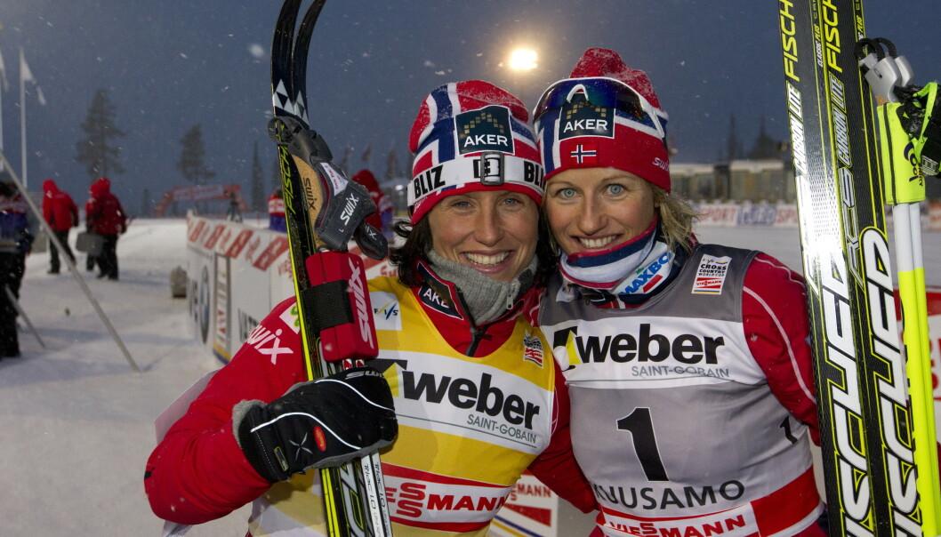 Marit Bjørgen skal hedre venninnen Vibeke Skofterud. Foto: Terje Bendiksby / NTB scanpix