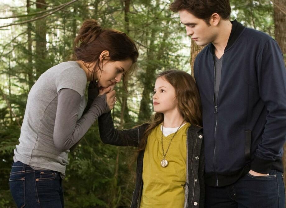 BERØMT OVER NATTEN: Mackenzie Foys karriere fikk en pangstart da hun kapret rollen som Renesmee Cullen i de to siste «Twilight»-filmene. FOTO: Summit Entertainment