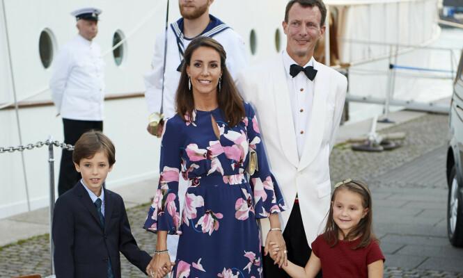 PÅ FLYTTEFOT: Prins Joachim og prinsesse Marie tar med seg barna Henrik og Athena når de flytter til Paris. Foto: NTB Scanpix