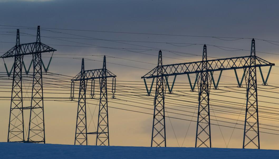 Sørum  20180228. Den kalde vinteren gjør at nettleien og strømprisen stiger. Foto: Vidar Ruud / NTB scanpix