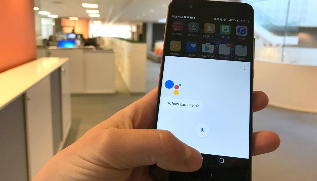 <strong>BEDRE:</strong> Google Assistant får bedre skussmål enn Apple Siri. Foto: Dinside