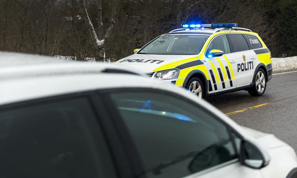FARTSBOT? Politiet jobber med å finne betalingsløsninger for å la folk gjøre opp på stedet hvis de får et forenklet forelegg. Vipps nevnes som en slik betalingsløsning. Foto: NTB scanpix