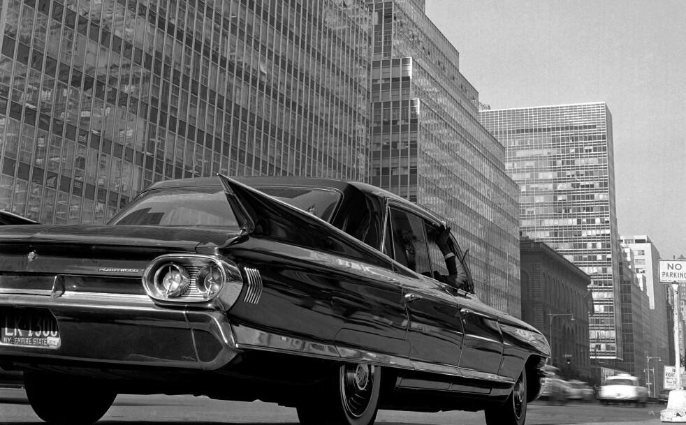 GAMLE BILER: Er du en ekspert på biler? Foto: AP Photo/Bob Goldberg.