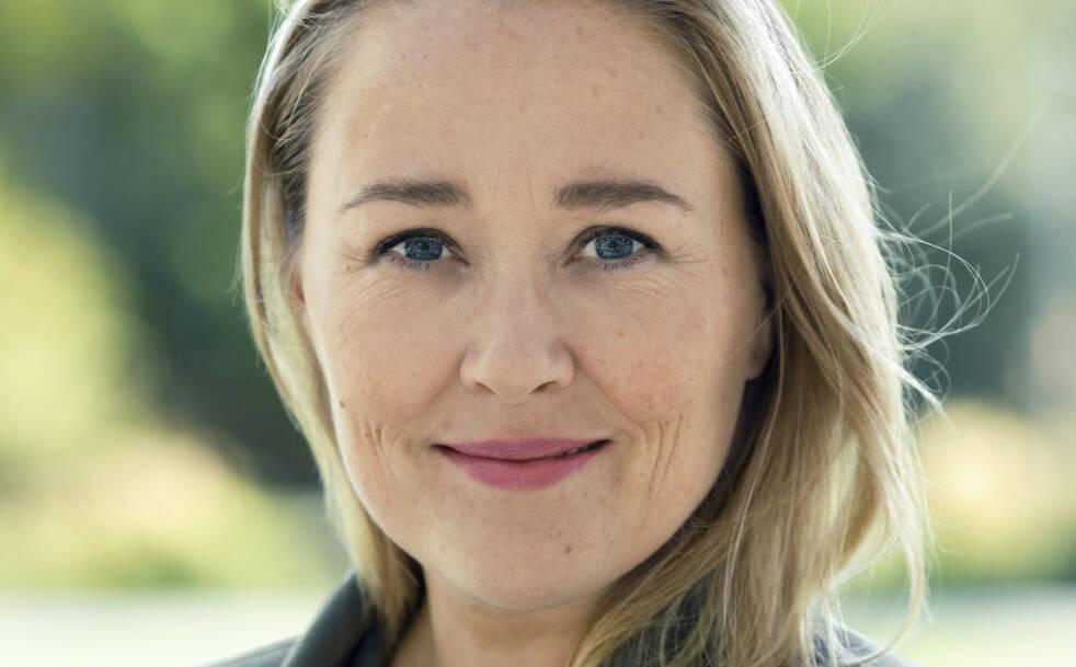 OVERGANGSALDER: Birgitte Hoff Lysholm ble skremt da hun i en alder av 39 fikk vite av Dr. Google at symptomene hennes kunne være overgangsalder. Da skrev hun bok om temaet. FOTO: Astrid Waller