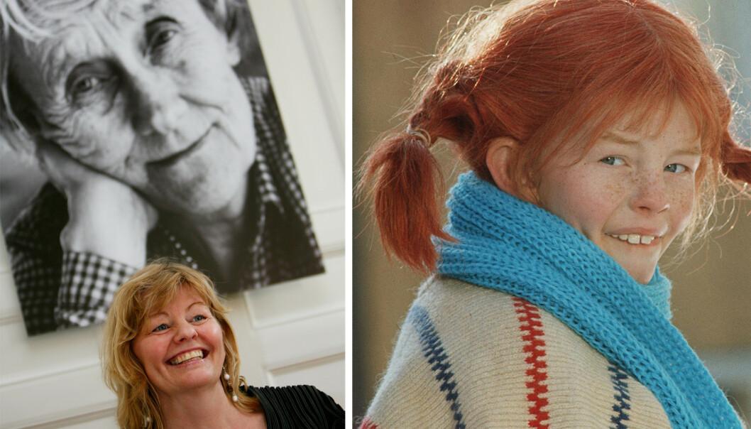 <strong>IKONISK:</strong> Astrid Lindgrens karakter Pippi Langstrømpe er kjent over hele verden. Det var Inger Nilsson som spilte i de populære filmene fra 60- og 70-tallet. FOTO: NTB Scanpix