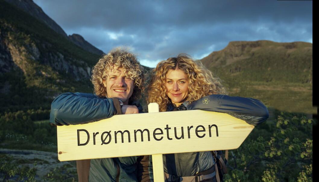 SLUTT: Alexander Gamme og Cecilie Skog forelsket seg under innspillingen av TV-serien «Drømmeturen» som gikk på NRK. Foto: Odd Arne Olderbakk/NRK