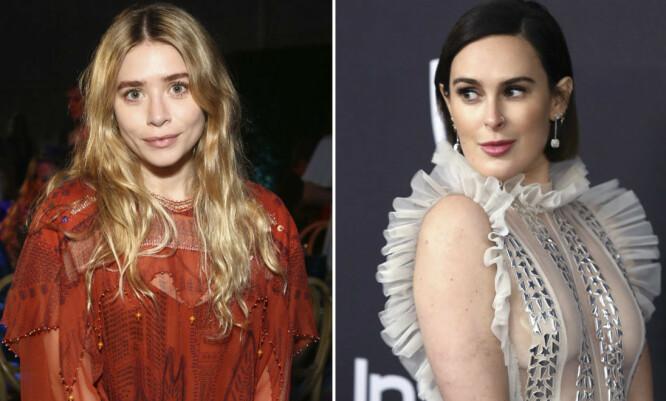 KUNNE VÆRT SERENA OG BLAIR: Skaperne av «Gossip Girl» hadde visstnok sett for seg Ashley Olsen som den blonde halvdelen av bestevenninne-duoen, og Rumer Willis som Blair. FOTO: Scanpix