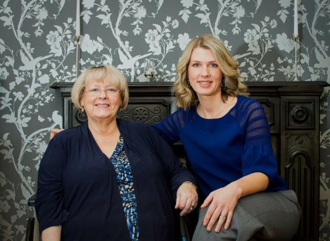 MOR OG DATTER: Catherine har alltid hatt et nært forhold til moren Jean. FOTO: NTB Scanpix