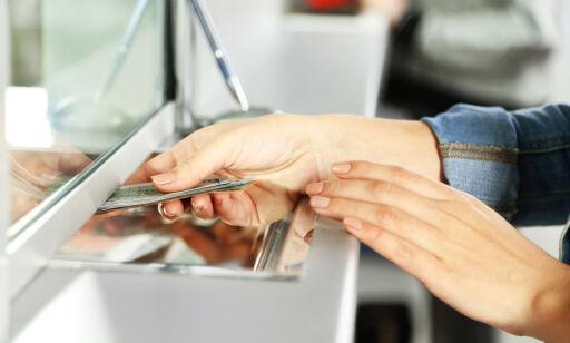 image: Kan banken si nei til kontantene dine?