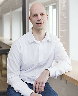 Teknologileder Jørn Ola Birkeland i Bekk.