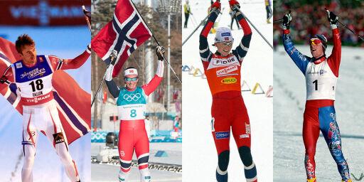 image: Dette er de 100 beste skiløperne i Norge noensinne