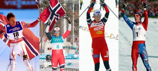 Dette er de 100 beste skiløperne i Norge noensinne