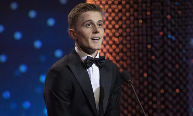 VANT PRIS: Bøyum stakk i mai av med Gullruten for beste mannlige skuespiller. Foto: Espen Solli