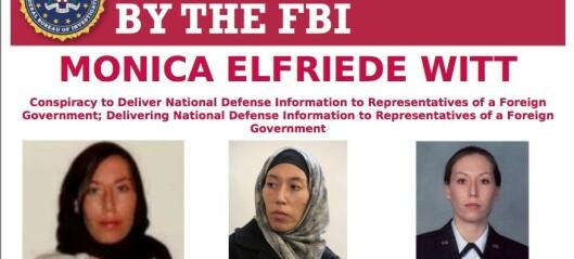 Siktet for spionasje for Iran