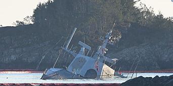 image: Tre personer mistenkt etter «Helge Ingstad»-kollisjonen