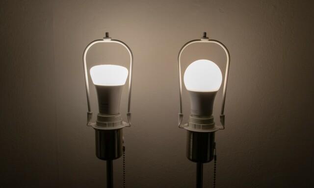 d6c7731beaa ... Begge lyspærene satt til fokus. Foto: Martin Kynningsrud Størbu