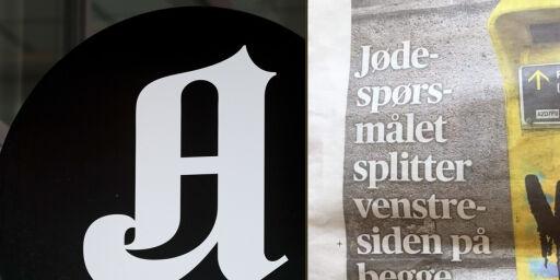 image: Bruker helside på «jødespørsmål»-blemme