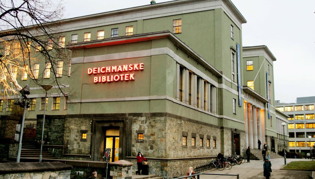 FRA GAMMELT TIL NYTT: Flyttingen fra Hammersborg til Bjørvika skjer i slutten av 2019. Nytt bibliotek åpner i 2020. Foto: Ørn E. Borgen / NTB Scanpix