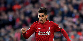 image: Syk Firmino usikker for Liverpool