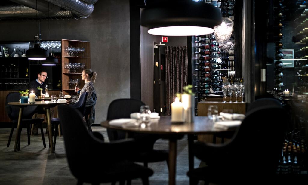 SKARP KONTRAST: Restaurant Kontrast har en stjerne i Michelin-guiden. Og man merker nivået på alle nivå, mener anmelderne. Foto: Bjørn Langsem