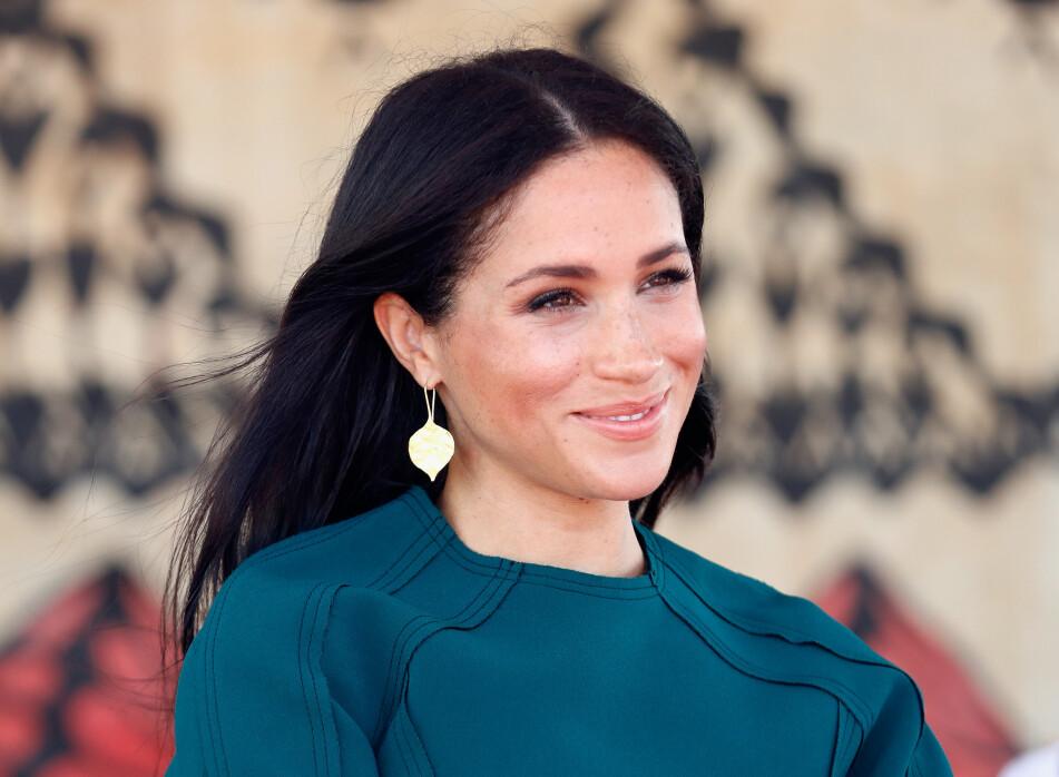 MEGHAN-BLOMSTEN: Hertuginnen av Sussex får som Kate, Diana og dronningen oppkalt en blomst etter seg. Foto: Scanpix