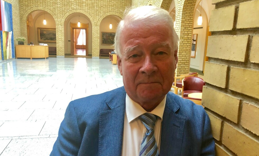 VARSLER OMKAMP: Carl I. Hagen håper på klimaomkamp foran 2021-valget. - Jeg håper på en utvikling, der flere vil forstå at vi sløser bort masse penger på helt unødvendige klimatiltak, sier Frp-gründeren. Foto: Gunnar Ringheim / Dagbladet