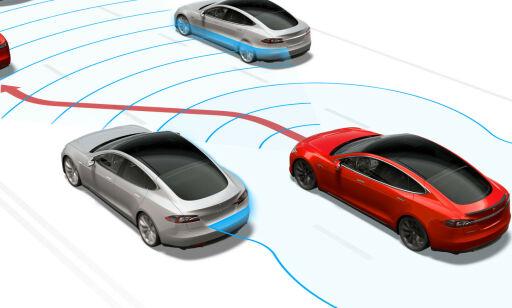 image: Norge først ute med ny Tesla-oppdatering