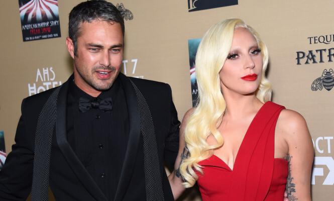 BRØT FORLOVELSEN: Etter fem år som kjærester, gikk Lady Gaga og Taylor Kinney hver til sitt i 2016. Foto: NTB Scanpix