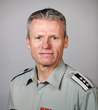 <strong>ANALYSERER:</strong> Oberst Trond Nilsen. Foto: Torbjørn Kjosvold / Forsvaret