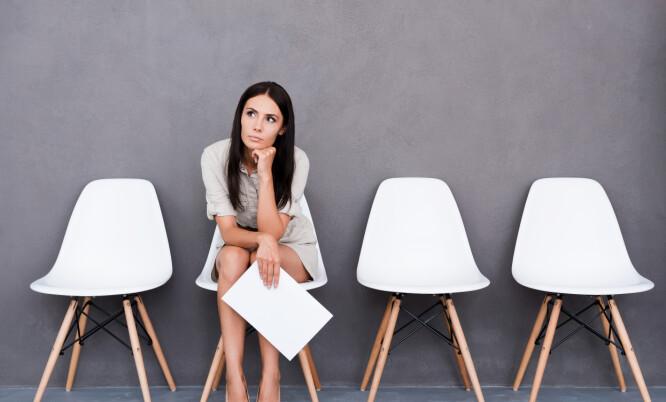 FORT GJORT Å BOMME: Det er fort gjort å si noe feil under jobbintervjuet, og i verste fall kan det føre til at drømmejobben går i vasken. FOTO: NTB Scanpix