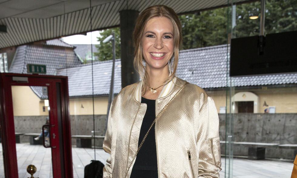 BABYLYKKE: TV2-værmelder Maiken Sørdal Fosen (28) ble mamma for første gang tirsdag kveld. Foto: Andreas Fadum / Se og Hør