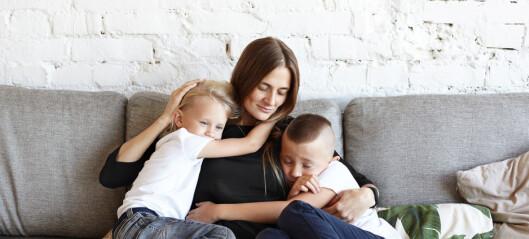 Tobarnsmødre er 40 prosent mer stressa enn andre