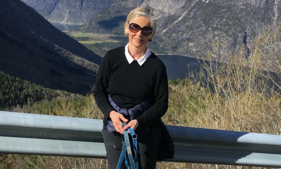 DØDE: Bjørg Marie Skeisvoll Hereid ble drept i Haugesund. Foto: privat