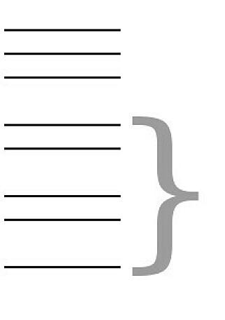 Krøllparantes har historisk blitt brukt for å beskrive en gruppe av setninger i grammatikk. 📸: Public Domain / Wikipedia