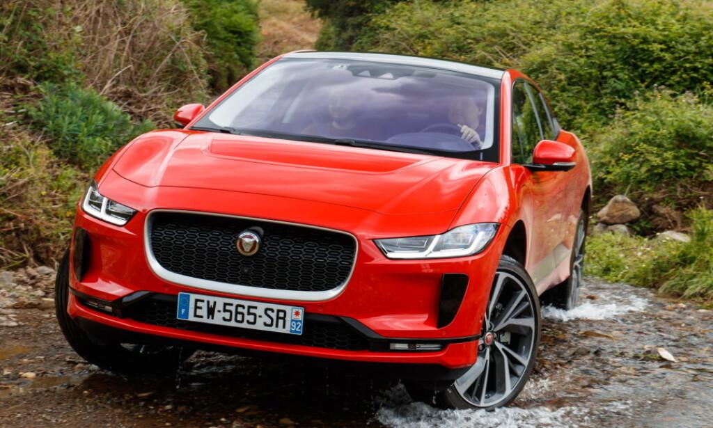 ÅRETS BIL? Jaguar I-PACE er i sin tredje Årets bil-finale i 2019. Denne gangen World Car of the Year. Foto: Jaguar