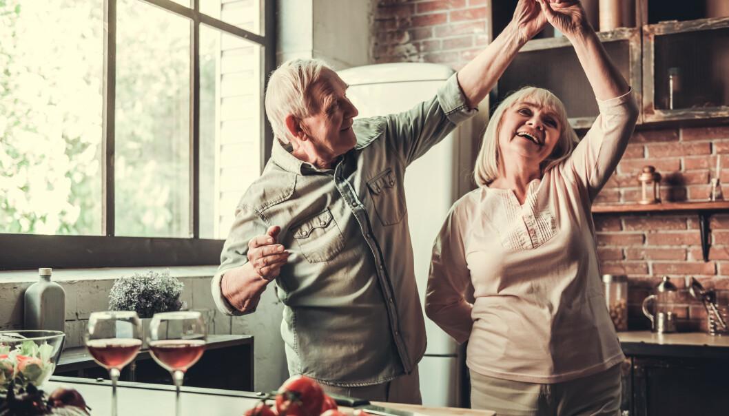 HAR GOD TID: Mange 70-åringer har god tid til å pleie parforhold og fritidsinteresser, og opplever stor livsglede og lykkefølelse. FOTO: NTB Scanpix