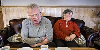 image: Vigdis (63) og Arne (66) ranet med øks i egen seng