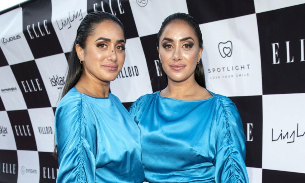 NÆRT FORHOLD: De populære tvillingsøstrene Vita og Wanda Mashadi åpner opp om kjærlighetslivet sitt. Foto: Andreas Fadum / Se og Hør
