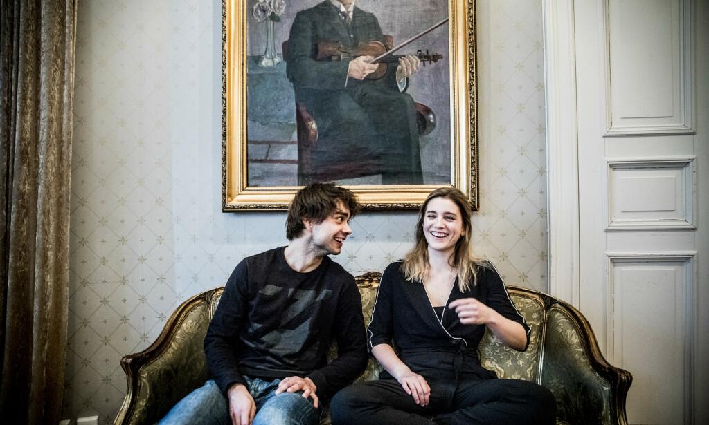 UNGDOMSKJÆRESTER: Alexander Rybak og Ingrid Berg Mehus var kjærester i tenårene. I dag er det kun gode venner. Foto: Christian Roth Christensen / Dagbladet