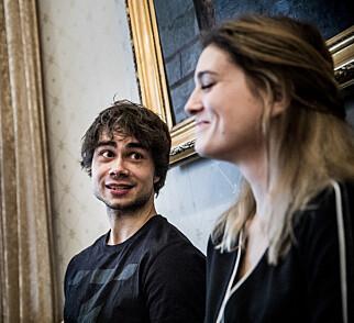 «FAIRYTALE»: Rybak skrev hitlåta om ungdomsforelskelsen, Ingrid Berg Mehus. Foto: Christian Roth Christensen / Dagbladet
