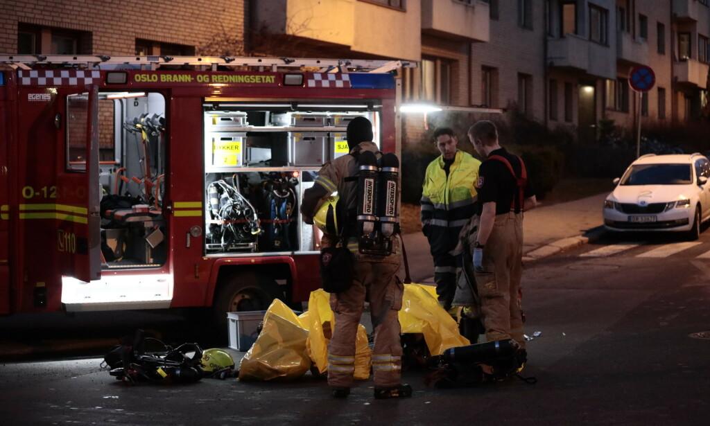 OMKOM: En person er død etter å ha kommet i kontakt med en strømførende kilde i en togtunnel i Oslo. To andre er kritisk skadd. Foto: Nina Hansen / Dagbladet