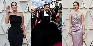 image: Se stjernenes ville Oscar-antrekk