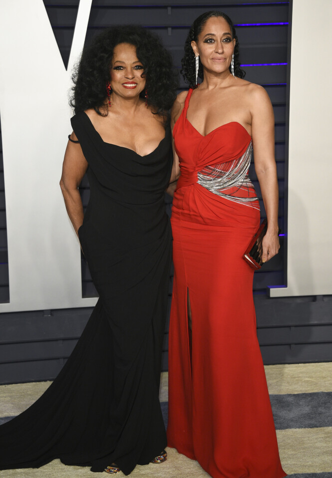 Diana Ross og Tracee Ellis Ross. Foto: Scanpix