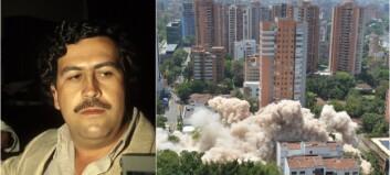 Pablo Escobars hjem lagt i ruiner